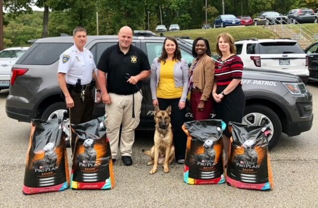 Washington Impact 2018 - Donations to K9 Unit